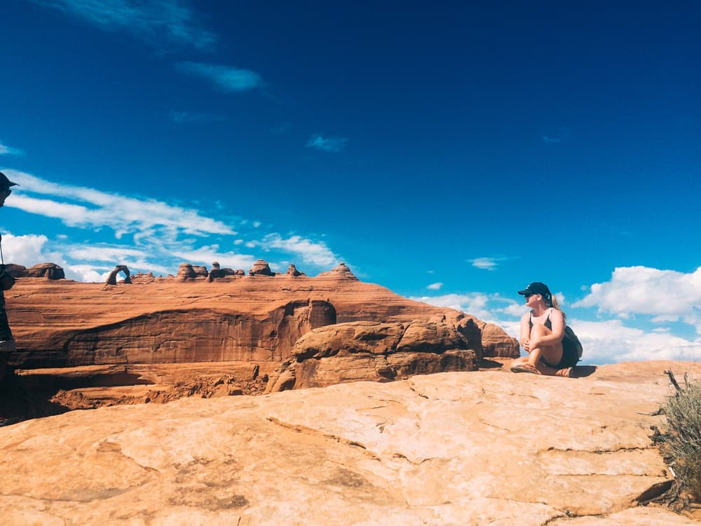 I got to explore Arches National Park. I call it the paradise on earth, I really love it there.